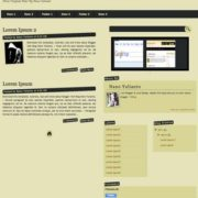 Mdev Blogger Templates