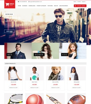 Mega Shop Blogger Templates