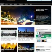 MegaMag Blogger Templates