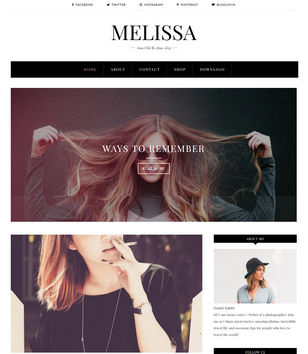 Melissa Blogger Templates
