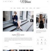 Milana Blogger Templates
