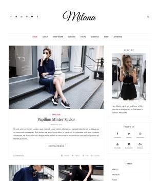 Milana Blogger Templates