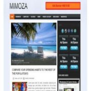 Mimoza Blogger Templates
