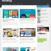 Mini Mag Blogger Templates