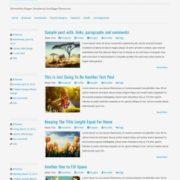 Minimalizine Responsive Blogger Templates