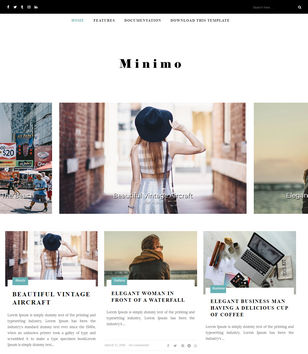 Minimo Blogger Templates