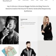 Minute Blogger Templates