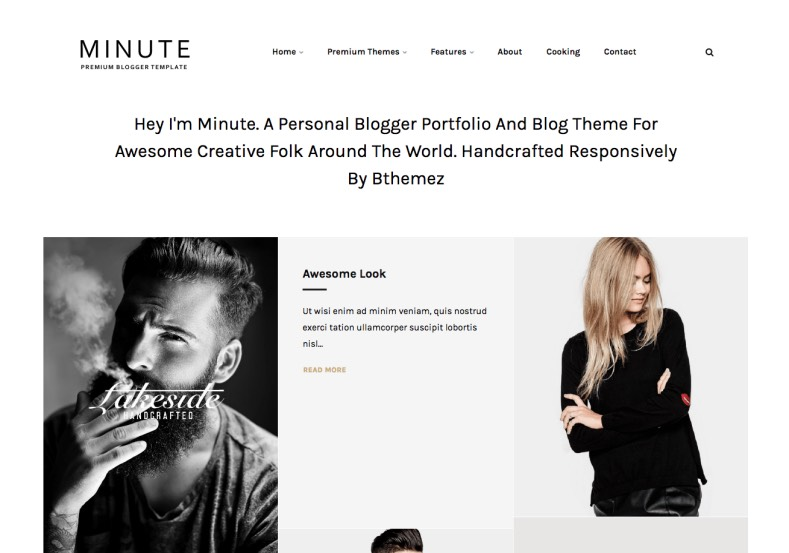 Minute Responsive Blogger Template. Blogger Templates 2015, Free blogger templates, blogspot themes