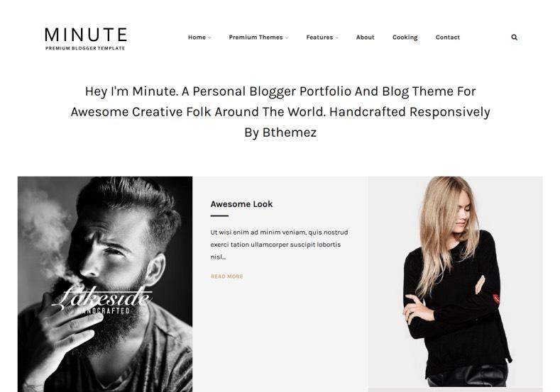 Minute Responsive Blogger Template. Blogger Templates 2015, Free blogger templates, blogspot themes