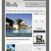 Mirelly Blogger Templates