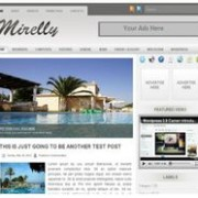 Mirelly blogger template