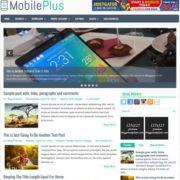 MobilePlus Blogger Templates