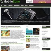MobileZone Blogger Templates