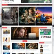 Modern Mag Responsive Blogger Templates