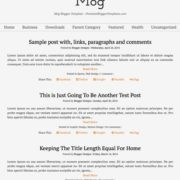 Mog Blogger Templates