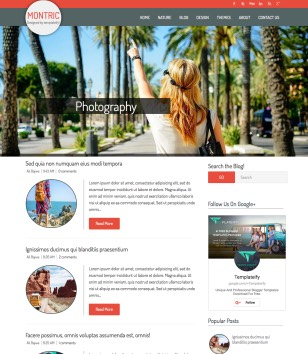 Montric Blogger Templates
