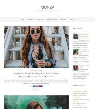 Monza Blogger Templates