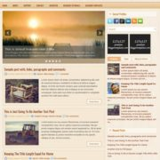 Morning Blogger Templates