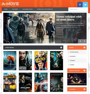 Movie Blogger Templates