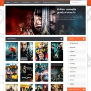 Movie Gallery Blogger Templates