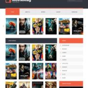 Movie Mag Blogger Templates