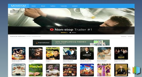 Movie-be Responsive Blogger Template premium « 9 Bag Templates Blogger