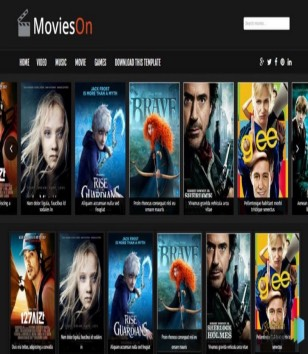 Movies On Blogger Templates