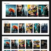 Moviez Blogger Templates