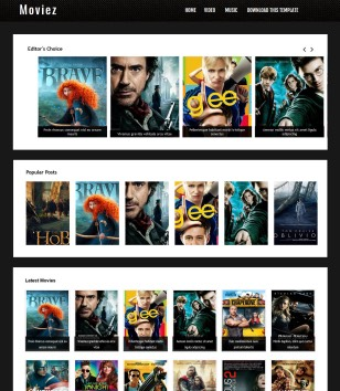 Moviez Blogger Templates