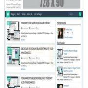 Mudahan SEO Responsive Blogger Templates