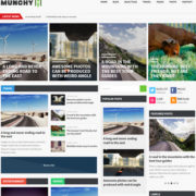 Munchy Mag Responsive Blogger Templates