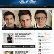 MusiMag Blogger Templates