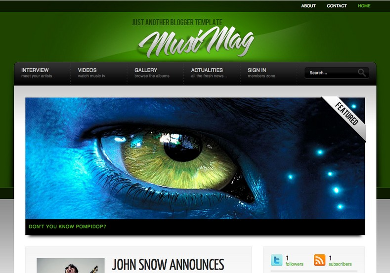 MusiMag Green Skin Blogger Template. Free Blogger templates. Blog templates. Template blogger, professional blogger templates free. blogspot themes, blog templates. Template blogger. blogspot templates 2013. template blogger 2013, templates para blogger, soccer blogger, blog templates blogger, blogger news templates. templates para blogspot. Templates free blogger blog templates. Download 1 column, 2 column. 2 columns, 3 column, 3 columns blog templates. Free Blogger templates, template blogger. 4 column templates Blog templates. Free Blogger templates free. Template blogger, blog templates. Download Ads ready, adapted from WordPress template blogger. blog templates Abstract, dark colors. Blog templates magazine, Elegant, grunge, fresh, web2.0 template blogger. Minimalist, rounded corners blog templates. Download templates Gallery, vintage, textured, vector, Simple floral. Free premium, clean, 3d templates. Anime, animals download. Free Art book, cars, cartoons, city, computers. Free Download Culture desktop family fantasy fashion templates download blog templates. Food and drink, games, gadgets, geometric blog templates. Girls, home internet health love music movies kids blog templates. Blogger download blog templates Interior, nature, neutral. Free News online store online shopping online shopping store. Free Blogger templates free template blogger, blog templates. Free download People personal, personal pages template blogger. Software space science video unique business templates download template blogger. Education entertainment photography sport travel cars and motorsports. St valentine Christmas Halloween template blogger. Download Slideshow slider, tabs tapped widget ready template blogger. Email subscription widget ready social bookmark ready post thumbnails under construction custom navbar template blogger. Free download Seo ready. Free download Footer columns, 3 columns footer, 4columns footer. Download Login ready, login support template blogger. Drop down menu vertical drop down menu page navigation menu breadcrumb navigation menu. Free download Fixed width fluid width responsive html5 template blogger. Free download Blogger Black blue brown green gray, Orange pink red violet white yellow silver. Sidebar one sidebar 1 sidebar 2 sidebar 3 sidebar 1 right sidebar 1 left sidebar. Left sidebar, left and right sidebar no sidebar template blogger. Blogger seo Tips and Trick. Blogger Guide. Blogging tips and Tricks for bloggers. Seo for Blogger. Google blogger. Blog, blogspot. Google blogger. Blogspot trick and tips for blogger. Design blogger blogspot blog. responsive blogger templates free. free blogger templates.Blog templates. MusiMag Green Skin Blogger Template. MusiMag Green Skin Blogger Template. MusiMag Green Skin Blogger Template.