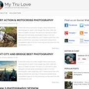 My Tru Love Blogger Template