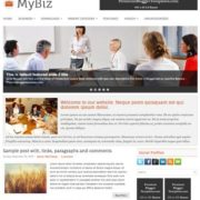 MyBiz Blogger Templates