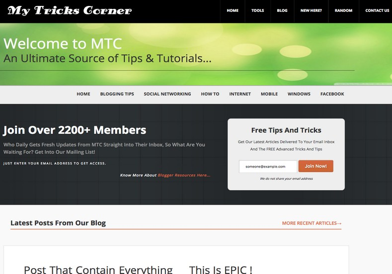 MyTricks Corner Responsive V2 Blogger Template. Free Blogger templates. Blog templates. Template blogger, professional blogger templates free. blogspot themes, blog templates. Template blogger. blogspot templates 2013. template blogger 2013, templates para blogger, soccer blogger, blog templates blogger, blogger news templates. templates para blogspot. Templates free blogger blog templates. Download 1 column, 2 column. 2 columns, 3 column, 3 columns blog templates. Free Blogger templates, template blogger. 4 column templates Blog templates. Free Blogger templates free. Template blogger, blog templates. Download Ads ready, adapted from WordPress template blogger. blog templates Abstract, dark colors. Blog templates magazine, Elegant, grunge, fresh, web2.0 template blogger. Minimalist, rounded corners blog templates. Download templates Gallery, vintage, textured, vector, Simple floral. Free premium, clean, 3d templates. Anime, animals download. Free Art book, cars, cartoons, city, computers. Free Download Culture desktop family fantasy fashion templates download blog templates. Food and drink, games, gadgets, geometric blog templates. Girls, home internet health love music movies kids blog templates. Blogger download blog templates Interior, nature, neutral. Free News online store online shopping online shopping store. Free Blogger templates free template blogger, blog templates. Free download People personal, personal pages template blogger. Software space science video unique business templates download template blogger. Education entertainment photography sport travel cars and motorsports. St valentine Christmas Halloween template blogger. Download Slideshow slider, tabs tapped widget ready template blogger. Email subscription widget ready social bookmark ready post thumbnails under construction custom navbar template blogger. Free download Seo ready. Free download Footer columns, 3 columns footer, 4columns footer. Download Login ready, login support template blogg