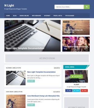 n-light-blogger-templates
