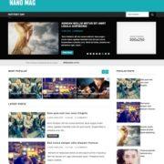 Nano Mag Blogger Templates