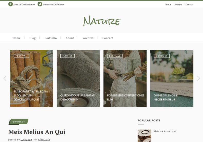 Nature Classic Blogger Template. blogger templates 2015. Free blogger templates . blogspot themes free