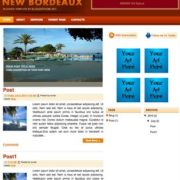 New Bordeaux Blogger Templates