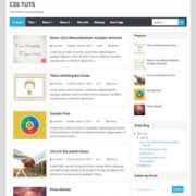 New Minima Colored Redesign Blogger Templates