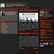 New-RedBrown blogger Templates