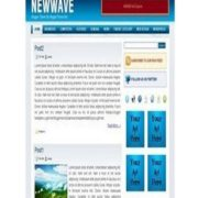 New Wave Blogger Templates