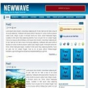 New Wave blogger template