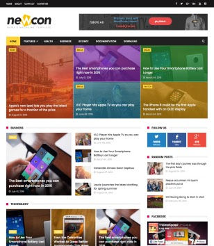 NewCon Blogger Templates