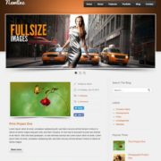 Newline Blogger Templates