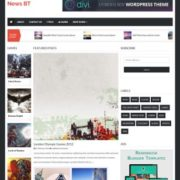 News BT Responsive Blogger Templates