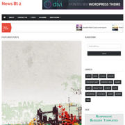 News BT V2 Blogger Templates