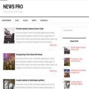 News Pro Responsive Blogger Templates