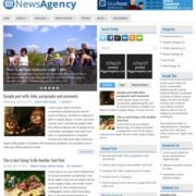 NewsAgency Blogger Templates
